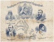 Создание Австралийской Федерации