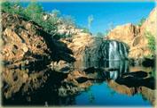 Катрин Горж и водопады Эдит