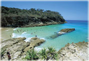 Сафари на джипе по острову Стрэдброк ( North Stradbroke Island)